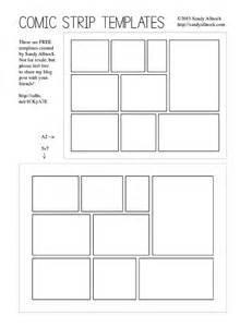 comic template free free template comic card allnock