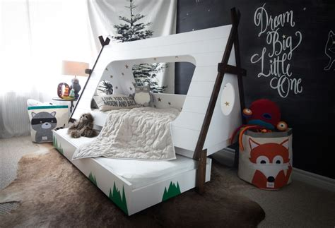 teepee bed loving mum creates terrific diy teepee bed for her son homecrux