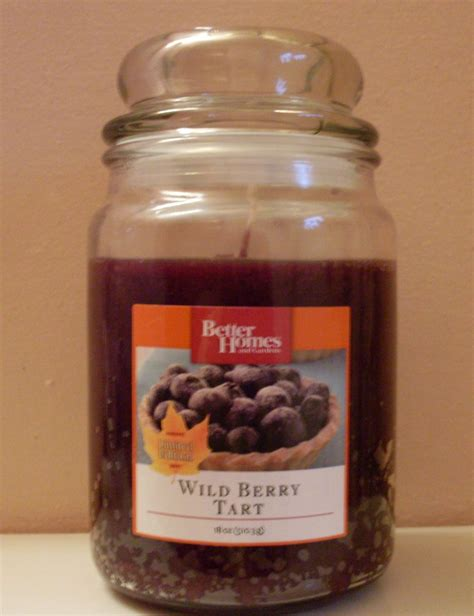 better homes and gardens limited edition wild berry tart 18 oz jar candle candles