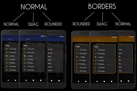 themes for android nougat substratum transparent oreo nougat theme android apps