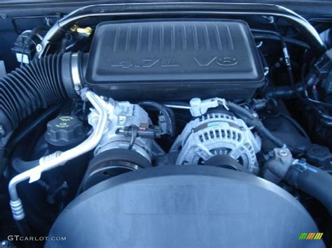 4 7 Liter Jeep Engine 2007 Jeep Grand Laredo 4 7 Liter Sohc 12v