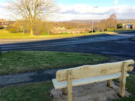a view from the bench new bench offers chance to enjoy view from the dene to buxted uckfield news