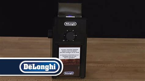 delonghi kg79 de longhi how to grind espresso coffee kg79 burr grinder