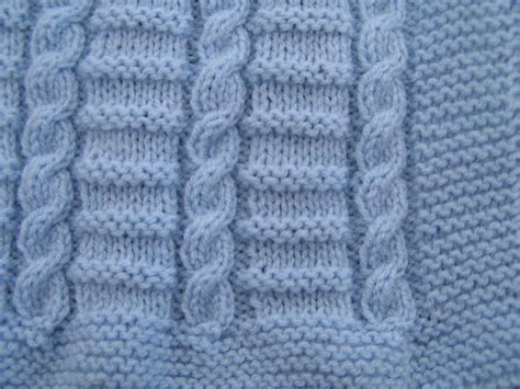 Baby Blanket Knitting Patterns Uk by Easy To Knit Cable Baby Blanket Pattern In Dk Ebay