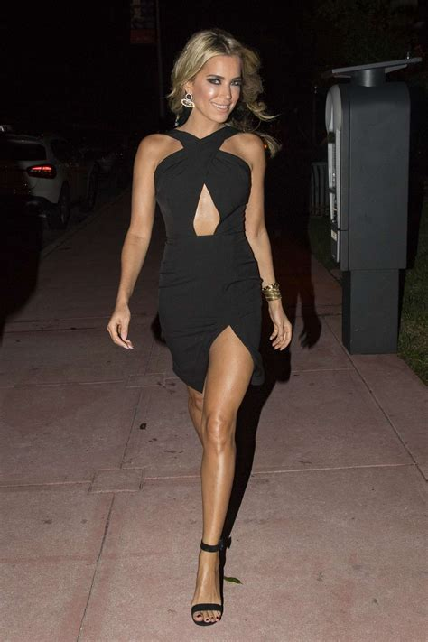 Silvie Dress sylvie meis in a black dress out in miami indian