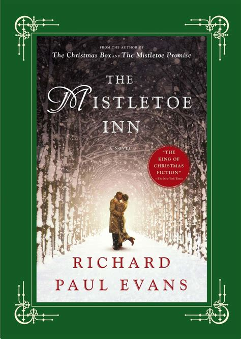book review fiction the mistletoe inn books and