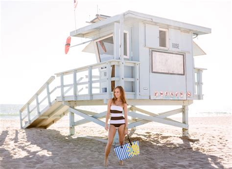 Victoria Secret Giveaway Bag 2014 - beach stripes sydne style
