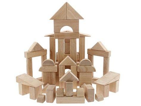 Building Blocks 83 Pcs doug 60 wood block set toys