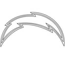 san diego chargers logo coloring pages