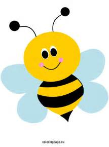 bees coloring page