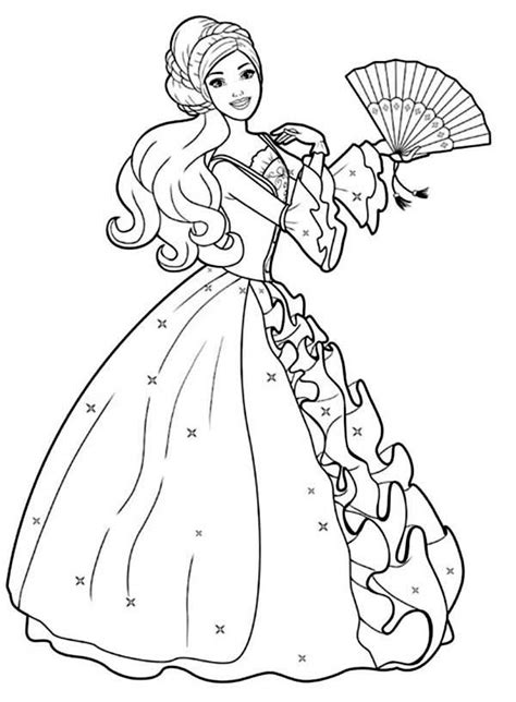 Barbie Coloring Pages Download | barbie coloring pages printable to download