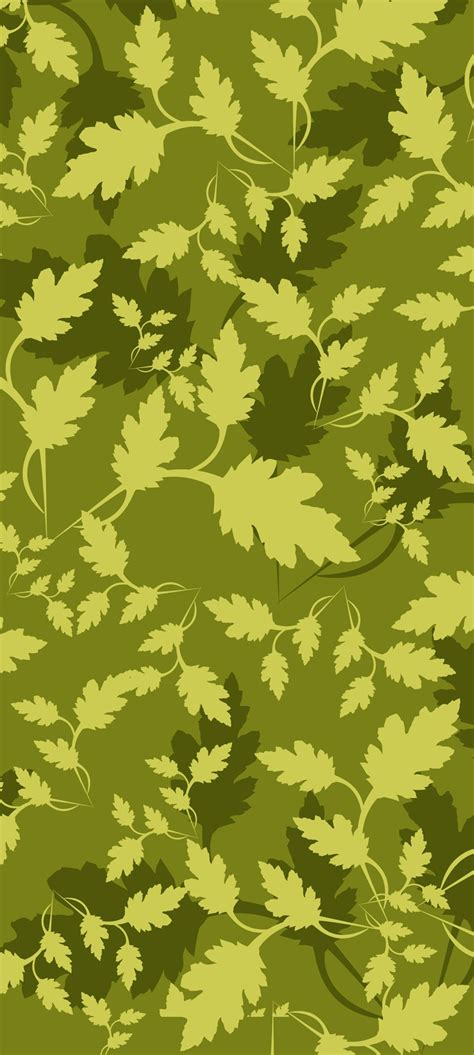 leaf pattern free vector leaves camouflage pattern