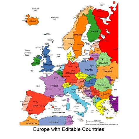 printable map of europe with countries printable map of western europe map of europe blank