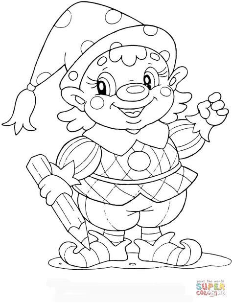 coloring page garden gnome gnome at school coloring page free printable coloring pages
