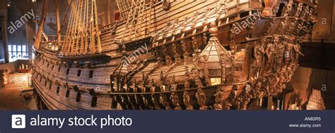 gustav vasa ship the royal ship vasa from 1628 at vasa museum in stockholm