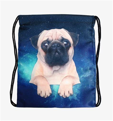 pug fashion 2016 new fashion pug galaxy backpack 3d printing travel softback mochila