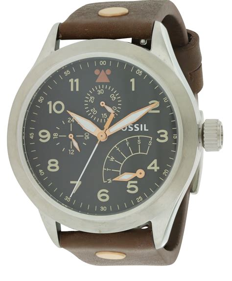 Fossil Mens Am4562 The Aeroflite fossil the aeroflite multifunction leather mens ch2939 ebay