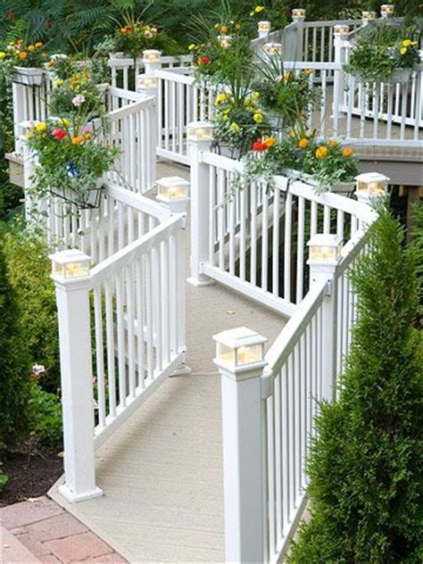 Deck Post Planters by 1000 Ideas About Deck Railing Planters On