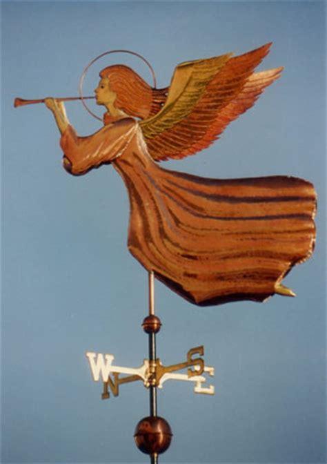 Handmade Weathervanes - in flight weathervane handmade of copper brass