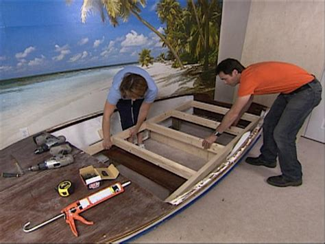 how to make a boat bed how to create a bed from an old boat how tos diy