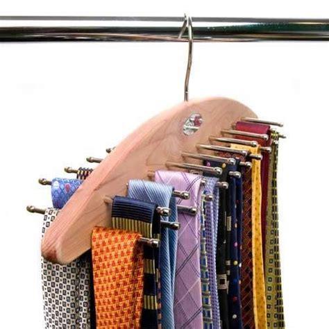 sided hanging tie organizer hang upto 42 ties