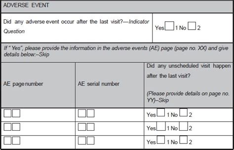 data clarification form template clinical trials choice