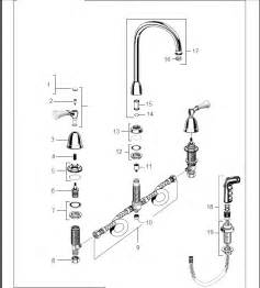 Kitchen Faucet Repair Parts Order Replacement Parts For American Standard 4251