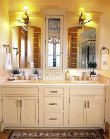 Custom Vanity Counter Functional Bathroom Cabinets Interior Design Inspiration