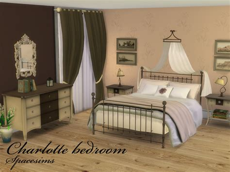the sims 4 bed cc spacesims charlotte bedroom