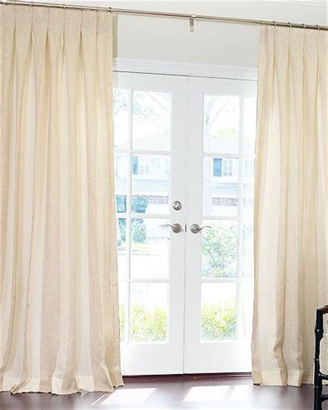 drape style hand made custom sheer linen drapes and roman blinds on