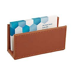 officemax card holder template realspace leatherette business card holder by office