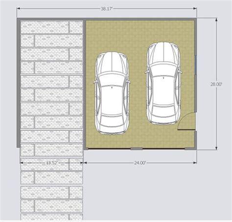 carport floor plans woodwork double garage carport plans pdf plans