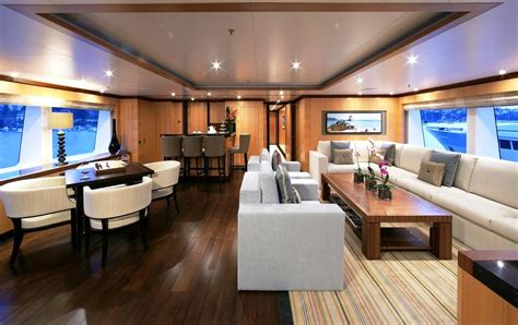 Modern Yacht Interior Design Ideas Contemporary Motor Yacht Interior Amnesia Superyachts News Luxury Yachts Charter Yachts
