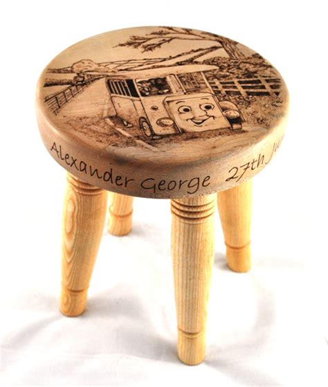 Child S Stool by Childs Personalised Stool