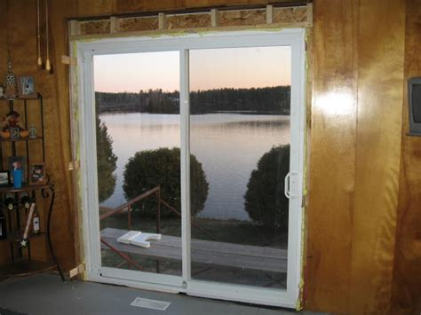 Diy Patio Doors Best Installing A Sliding Patio Door Sliding Patio Door Installation Building Construction Diy