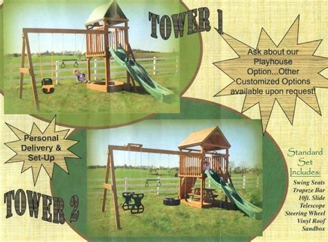 swing ar i 30 portable buildings benton ar wooden swing sets