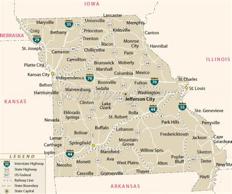 missouri map test missouri mo investigator pi licensing test