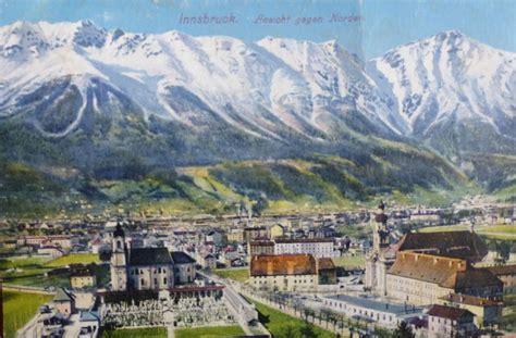 Postkarten Drucken Innsbruck by Innsbruck Gegen Norden Alte Ansichtskarten Bilder Im
