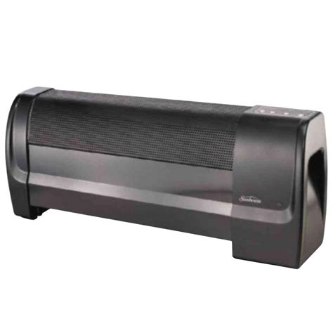 sunbeam low profile digital heater 341994 the home depot