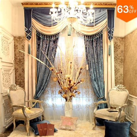 Gold Living Room Curtains Decorating Golden And Silver Luxurious Hook Hang Style Living Room Curtains For Restaurant Valancer