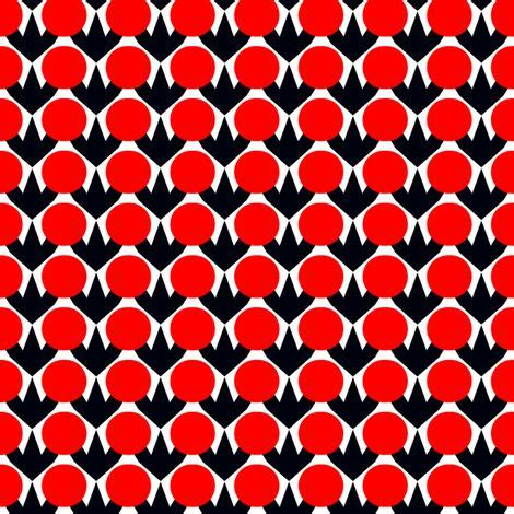 red dot pattern tracing cloth polanen red dots fabric by stoflab on spoonflower just