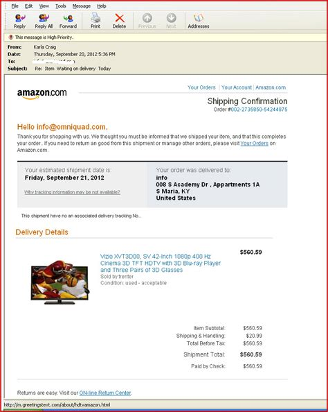 phishing scam targeting amazon users your amazon order