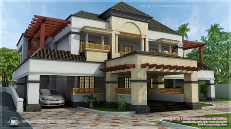 home design arabic style 5500 square feet fusion mix with arabic style home