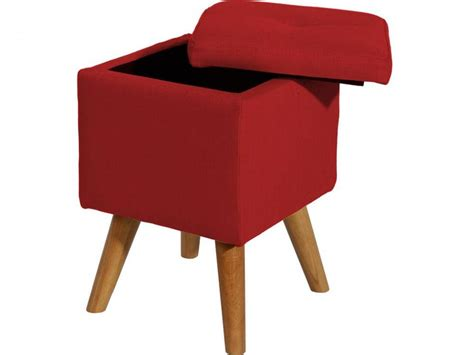 bhp best home products hocker rot mit stauraum 123moebel de - Hocker Rot