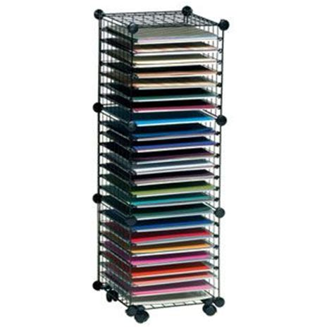 Craft Paper Storage Solutions - product scrapbook solutions wire paper storage racks for