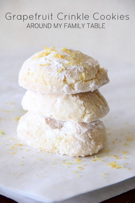 gluten free white cake mix grapefruit crinkle cookies made with basic gluten free