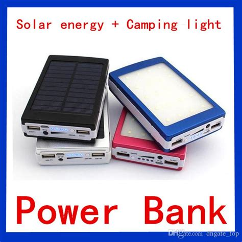 Solar Powerbank 20000 Mah Power Bank 20000mah Panel Surya Dual Usb 2017 solar and cing light powerbank 20000 mah battery panel portable led external charger