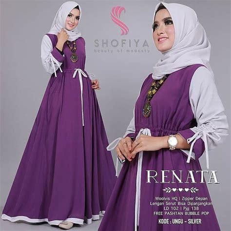 Baju Gamis Murah Busana Muslim New Valencia Dres Sr Dresses Gamis jual baju gamis pesta modern new dress muslimodis