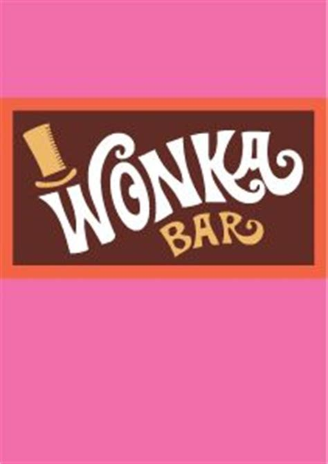 willy wonka bar wrapper template 17 best images about willy wonka on