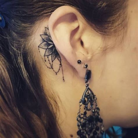 blessed tattoo behind ear 40 intricate mandala tattoo designs mandala tattoo